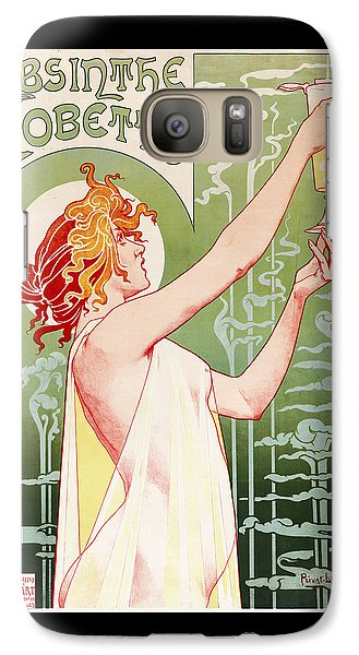Absinthe Robette Galaxy Case by Henri Privat-Livemont