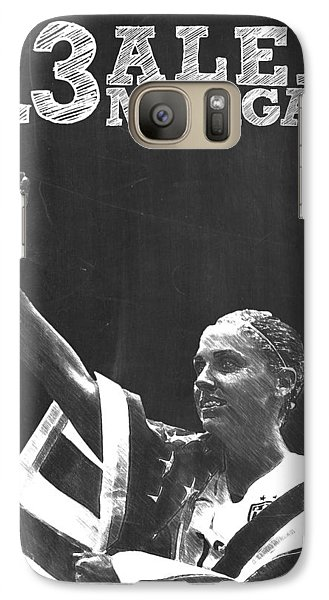 Alex Morgan Galaxy Case by Semih Yurdabak