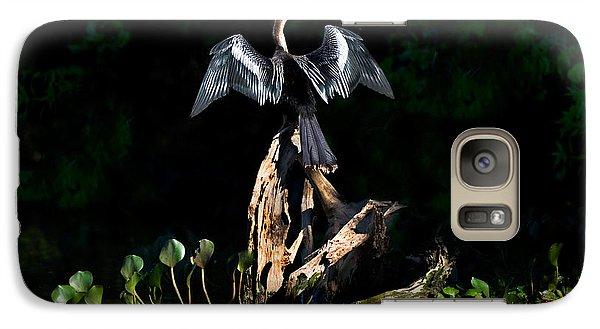 Anhinga Anhinga Anhinga, Pantanal Galaxy S7 Case by Panoramic Images