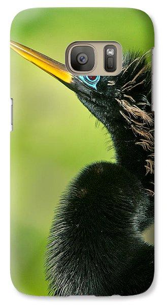 Anhinga Anhinga Anhinga, Tortuguero Galaxy S7 Case by Panoramic Images
