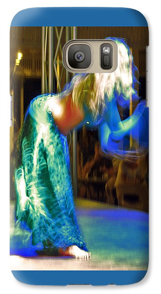 Belly Dance Galaxy S7 Case by Andy Za