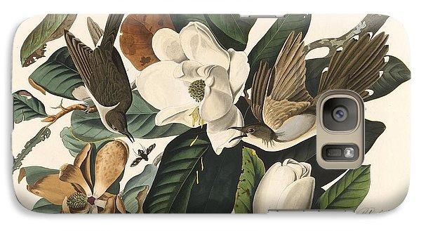 Black-billed Cuckoo Galaxy S7 Case by John James Audubon