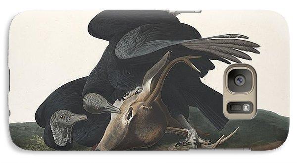 Black Vulture Galaxy S7 Case by John James Audubon