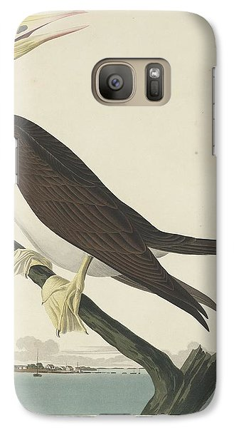 Booby Gannet Galaxy S7 Case by John James Audubon