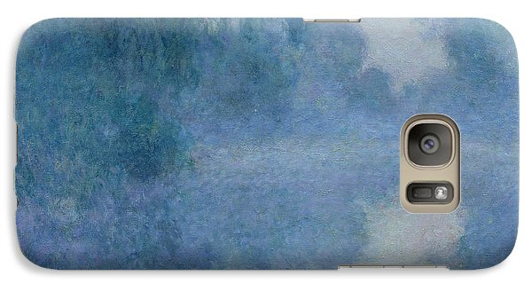 Branch Of The Seine Near Giverny Galaxy S7 Case by Claude Monet