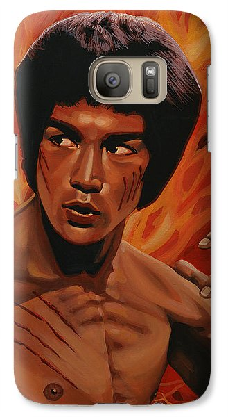 Bruce Lee Enter The Dragon Galaxy Case by Paul Meijering