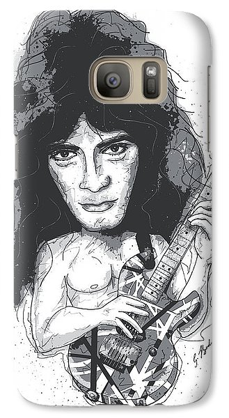 Eddie Van Halen Galaxy Case by Gary Bodnar
