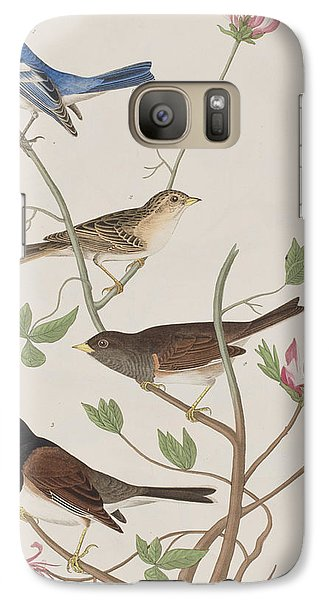 Finches Galaxy Case by John James Audubon