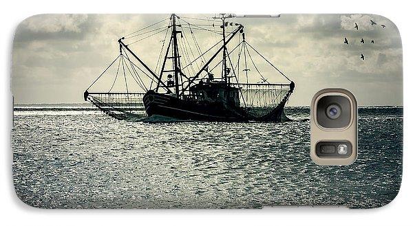 Fishing Boat Galaxy S7 Case by Joana Kruse