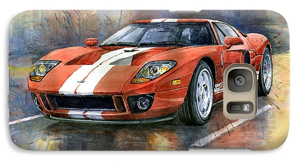 Ford Gt 40 2006  Galaxy S7 Case by Yuriy  Shevchuk