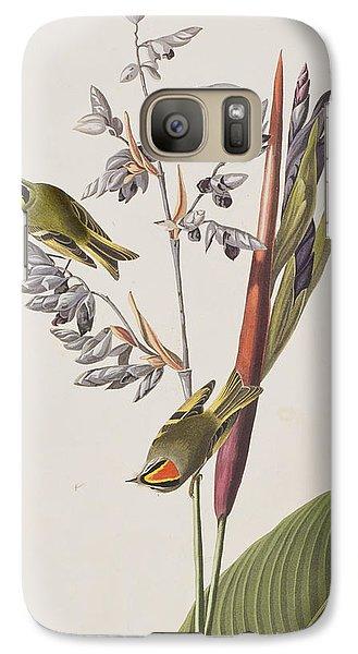 Golden-crested Wren Galaxy Case by John James Audubon
