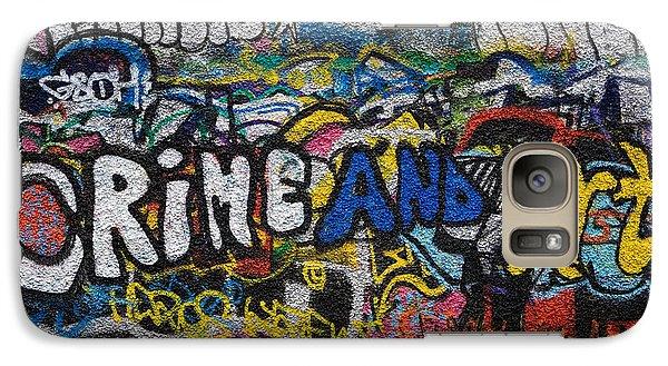 Grafitti On The U2 Wall, Windmill Lane Galaxy S7 Case by Panoramic Images