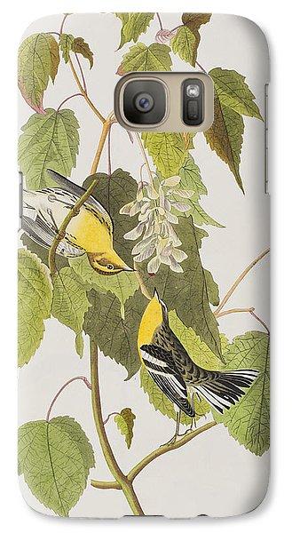 Hemlock Warbler Galaxy S7 Case by John James Audubon
