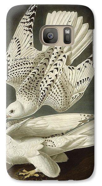 Iceland Or Jer Falcon Galaxy Case by John James Audubon