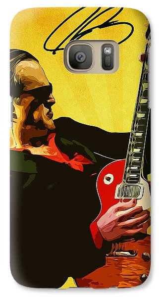 Joe Bonamassa Galaxy S7 Case by Semih Yurdabak