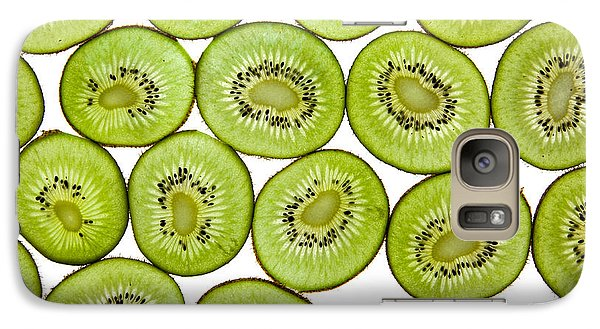 Kiwifruit Galaxy S7 Case by Nailia Schwarz