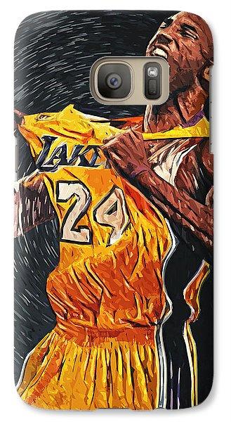 Kobe Bryant Galaxy S7 Case by Taylan Apukovska