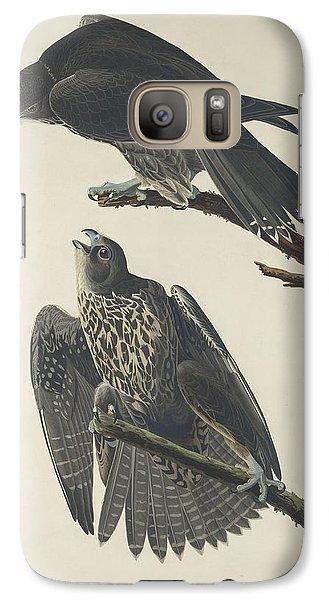 Labrador Falcon Galaxy Case by John James Audubon