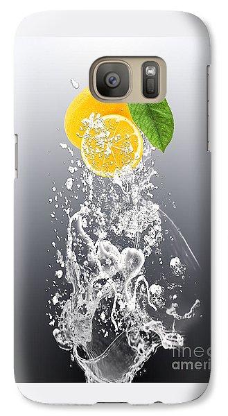 Lemon Splast Galaxy Case by Marvin Blaine