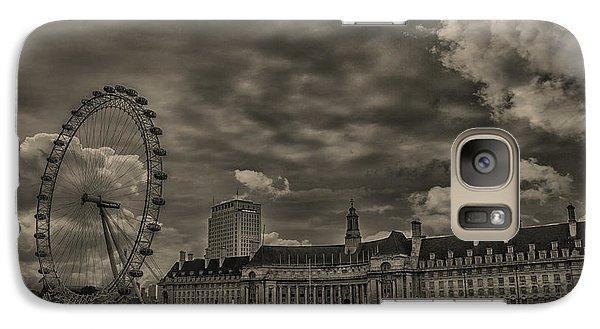 London Eye Galaxy Case by Martin Newman