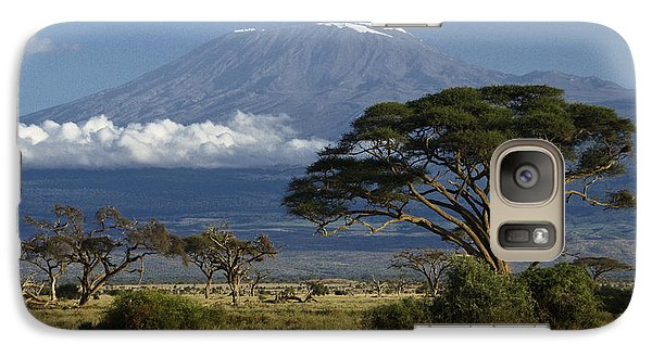 Mount Kilimanjaro Galaxy S7 Case by Michele Burgess