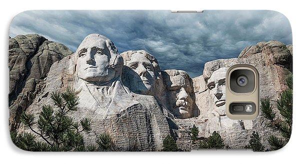 Mount Rushmore II Galaxy S7 Case by Tom Mc Nemar