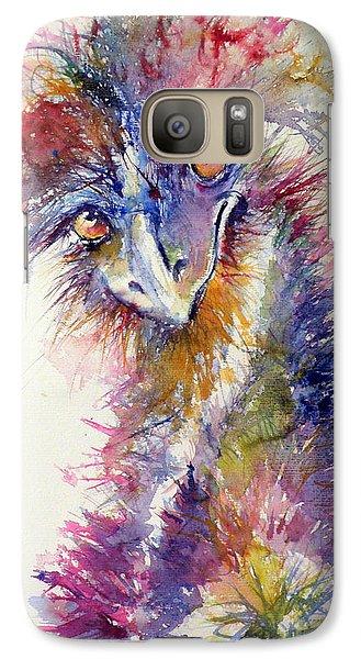 Ostrich Galaxy Case by Kovacs Anna Brigitta