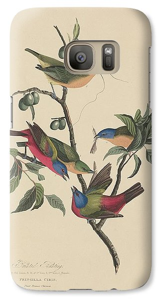 Painted Bunting Galaxy Case by John James Audubon