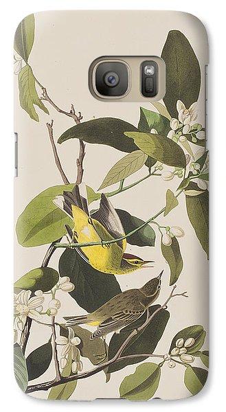 Palm Warbler Galaxy S7 Case by John James Audubon