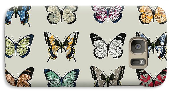 Papillon Galaxy Case by Sarah Hough
