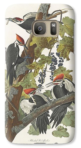 Pileated Woodpecker Galaxy S7 Case by John James Audubon