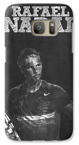 Rafael Nadal Galaxy Case by Semih Yurdabak