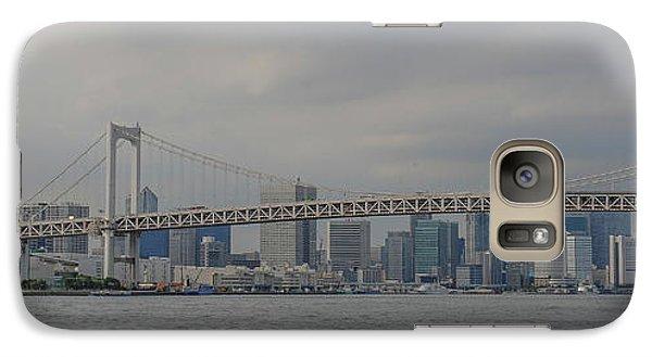 Rainbow Bridge Galaxy S7 Case by Megan Martens