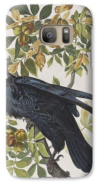 Raven Galaxy S7 Case by John James Audubon