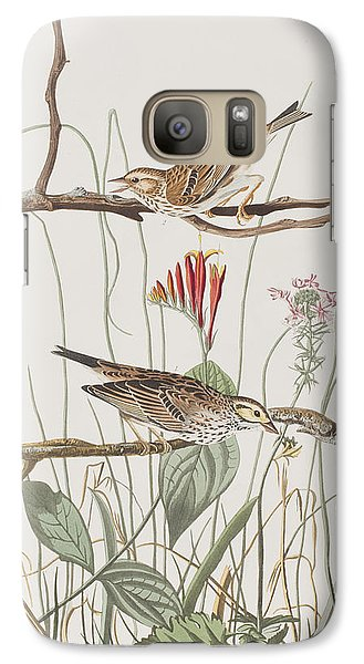 Savannah Finch Galaxy Case by John James Audubon