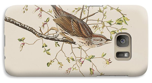 Song Sparrow Galaxy S7 Case by John James Audubon