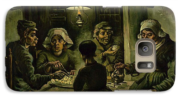 The Potato Eaters, 1885 Galaxy Case by Vincent Van Gogh