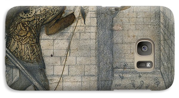 Theseus And The Minotaur In The Labyrinth Galaxy S7 Case by Edward Burne-Jones