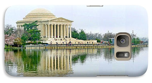 Tidal Basin With Cherry Blossoms Galaxy Case by Jack Schultz