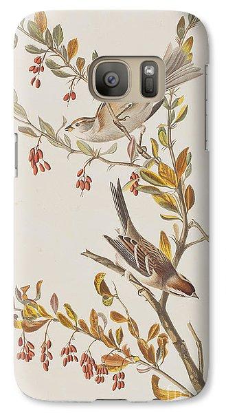 Tree Sparrow Galaxy Case by John James Audubon