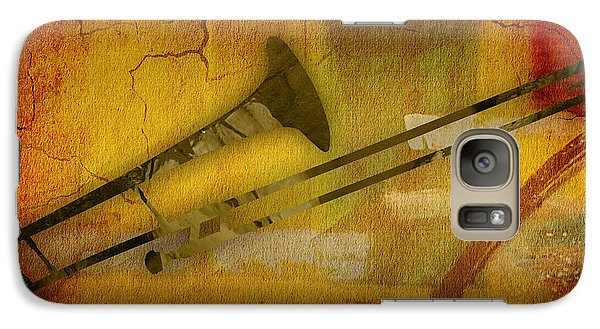 Trombone Collection Galaxy Case by Marvin Blaine
