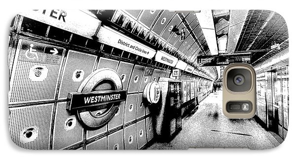 Underground London Art Galaxy Case by David Pyatt
