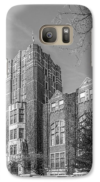 University Of Michigan Union Galaxy S7 Case by University Icons