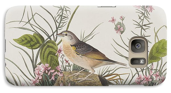 Yellow-winged Sparrow Galaxy S7 Case by John James Audubon