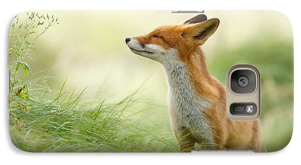 Zen Fox Series - Zen Fox Galaxy Case by Roeselien Raimond