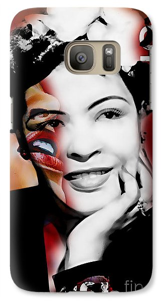 Billie Holiday Collection Galaxy Case by Marvin Blaine