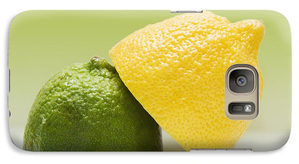 12 Organic Lemon And 12 Lime Galaxy Case by Marlene Ford