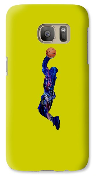 Basketball Collection Galaxy Case by Marvin Blaine