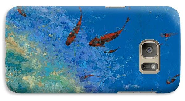 13 Pesciolini Rossi Galaxy S7 Case by Guido Borelli