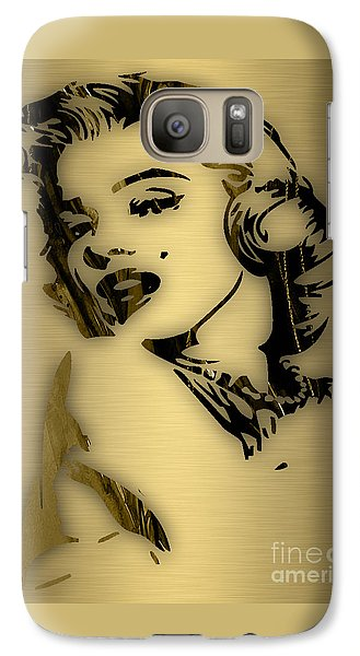 Marilyn Monroe Collection Galaxy Case by Marvin Blaine